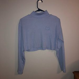 Vintage Blue Turtleneck
